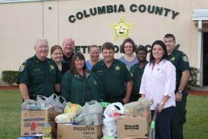 COLUMBIA COUNTY SHERIFF'S OFFICE FOOD DRIVE
