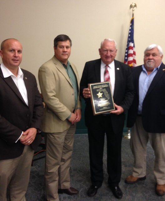 Florida Sheriff's Association Honors State Senator Dean