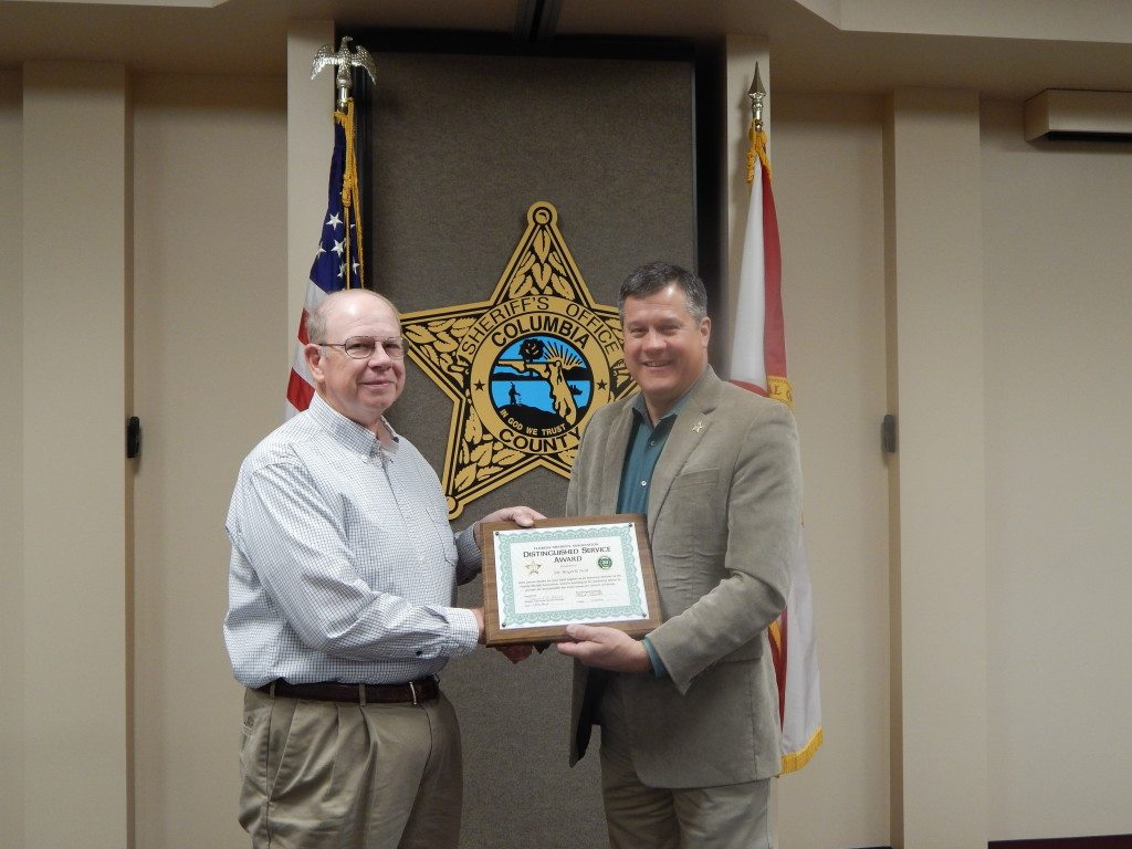 Mr. Roger Noll and Sheriff Mark Hunter