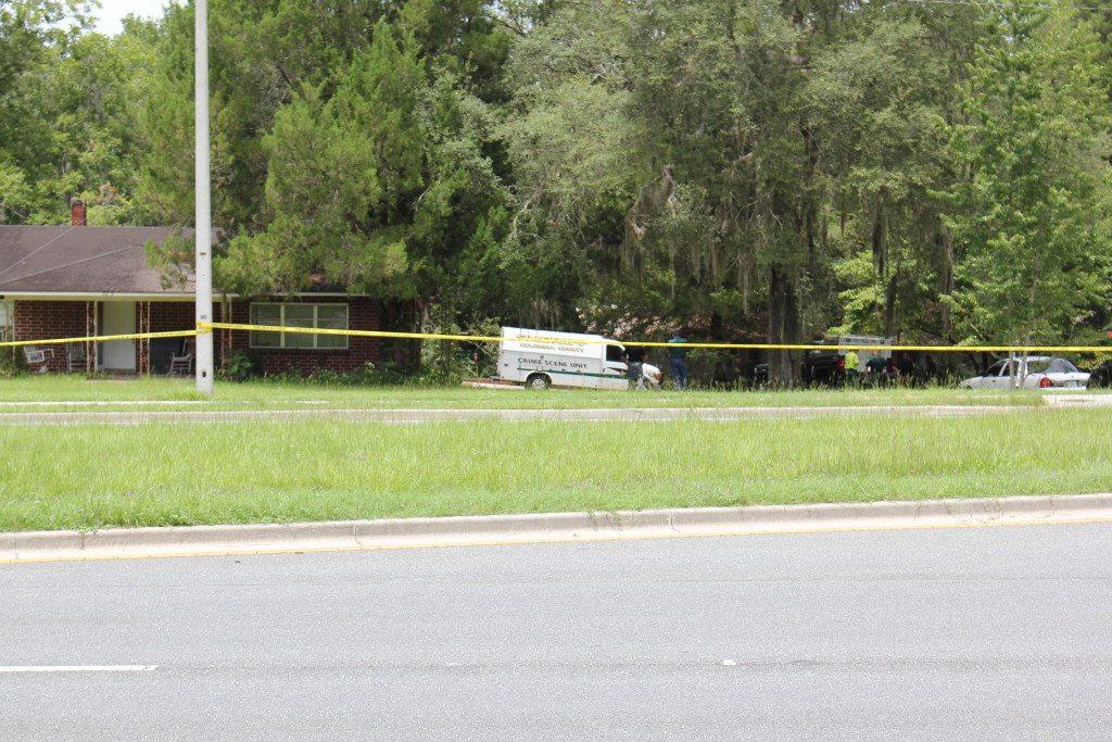 Crime Scene Unit at location