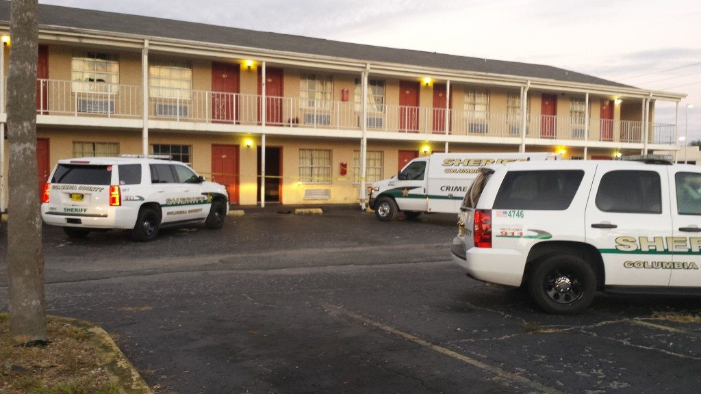 Crime Scene at Budget Inn
