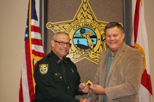 Corporal Howard Sweat and Sheriff Mark Hunter